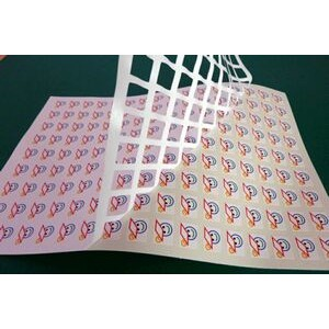 Vinyl Labels-Custom Cut-Outdoor Durable (Up to 1 Sq. In.)